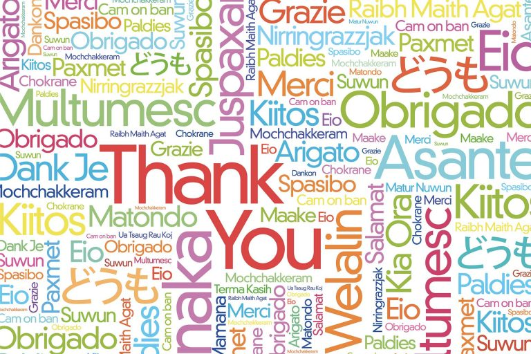 How to say Thank You in… 2